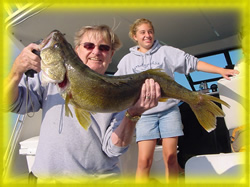 lake erie pa walleye fishing charters